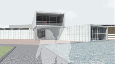 CLEMENT LANGELIN ARCHITECTURE - VUE DEPUIS LACCES SUD