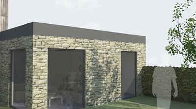 CLEMENT LANGELIN ARCHITECTURE - VUE EXTERIEURE DUN LOGEMENT