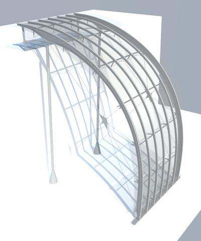 CLEMENT LANGELIN ARCHITECTURE - AXONOMÉTRIE STRUCTURELLE 3