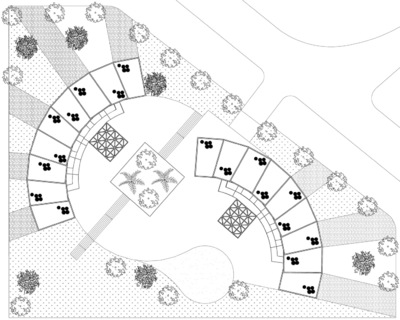 CLEMENT LANGELIN ARCHITECTURE - PLAN MASSE
