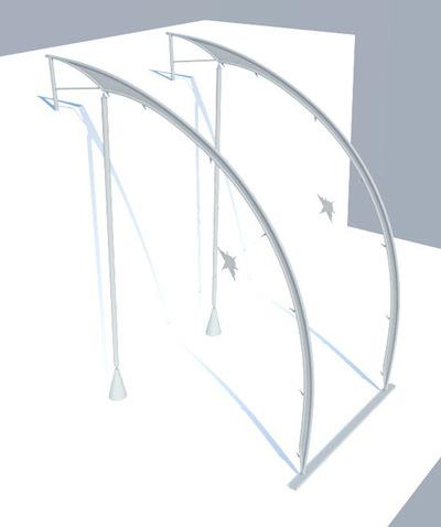 CLEMENT LANGELIN ARCHITECTURE - AXONOMÉTRIE STRUCTURELLE 1