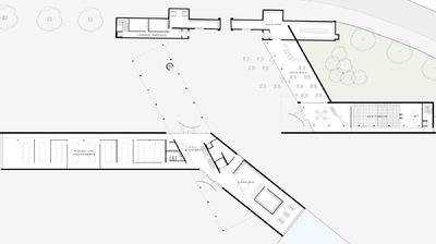 CLEMENT LANGELIN ARCHITECTURE - PLAN DE REZ DE CHAUSSEE