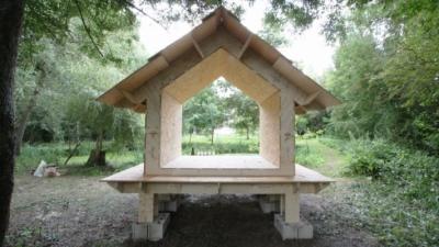 CLEMENT LANGELIN ARCHITECTURE - Wiki(P)TeaHouse - 2014 - Grisy-Sur-Seine