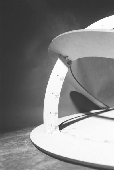 CLEMENT LANGELIN ARCHITECTURE - MAQUETTE HELIODON 2
