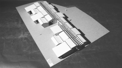 CLEMENT LANGELIN ARCHITECTURE - MAQUETTE PROJET 1