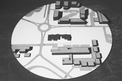 CLEMENT LANGELIN ARCHITECTURE - MAQUETTE SITE 1