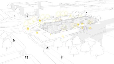 CLEMENT LANGELIN ARCHITECTURE - PHASE 3 - LE FABLAB DANS SON ENVIRONNEMENT