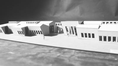 CLEMENT LANGELIN ARCHITECTURE - MAQUETTE PROJET 2