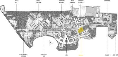 CLEMENT LANGELIN ARCHITECTURE - LE TECHNOPOLE DU MADRILLET ET LA PARCELLE