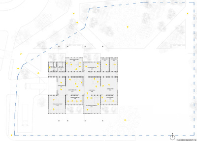 CLEMENT LANGELIN ARCHITECTURE - PLAN DE REZ DE CHAUSSEE DU KIT