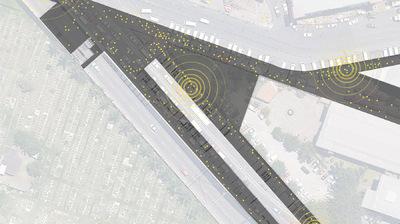 CLEMENT LANGELIN ARCHITECTURE - PLAN DE LA ZONE AUX HEURES DE POINTE