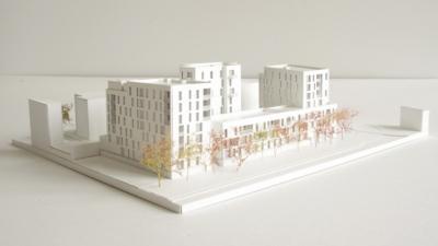 CLEMENT LANGELIN ARCHITECTURE - Maquette de concours - 2015