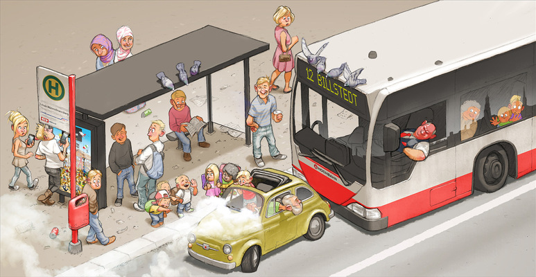 SAMSON - BUS STOP