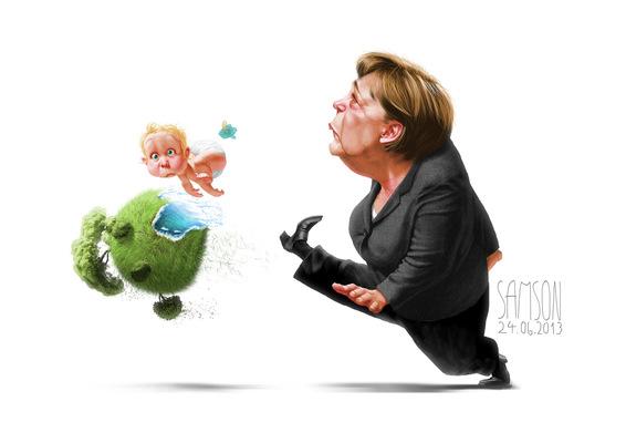 SAMSON - Angela Merkel