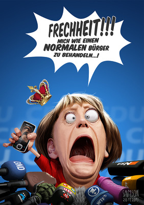 SAMSON - Merkel comments on the NSA-Affair