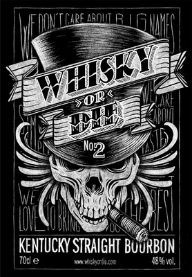 SAMSON - WHISKY OR DIE - Whisky Label