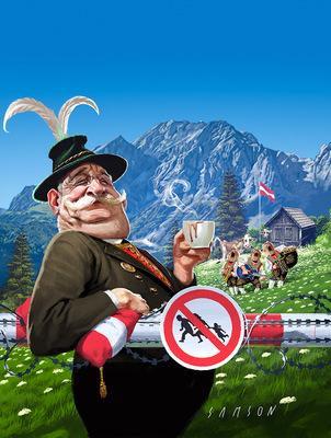 SAMSON - DER SPIEGEL - Oh Österreich!