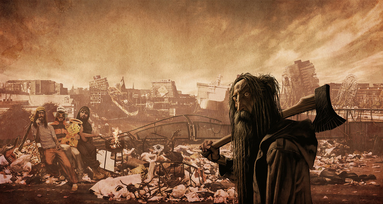 SAMSON - BONE MAN - Plastic Wasteland