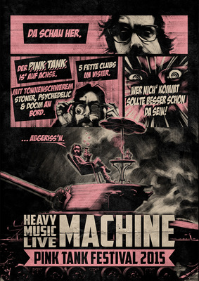 SAMSON - HEAVY MUSIC LIVE MACHINE - Pink Tank Festival 2015