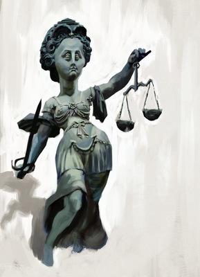 SAMSON - Justitia /// Sketch