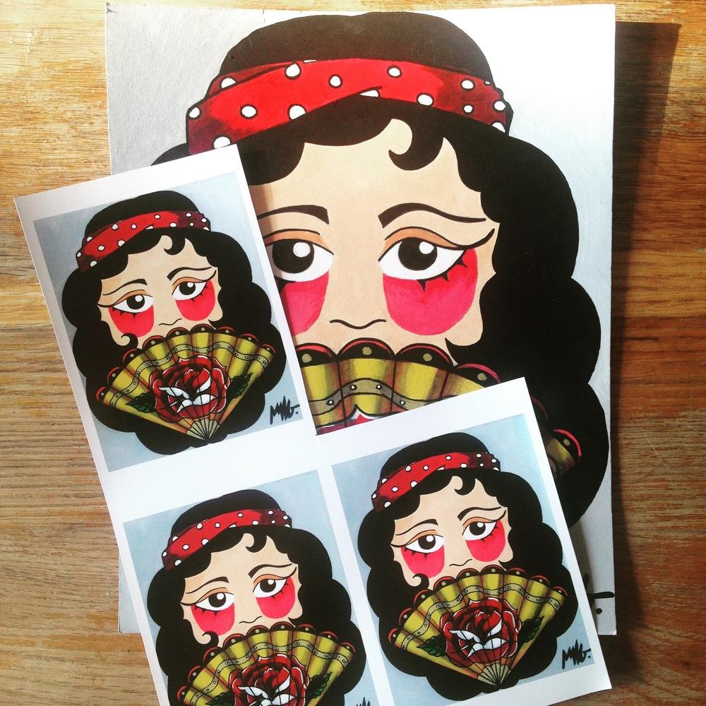 Marie LG - création cartes postales