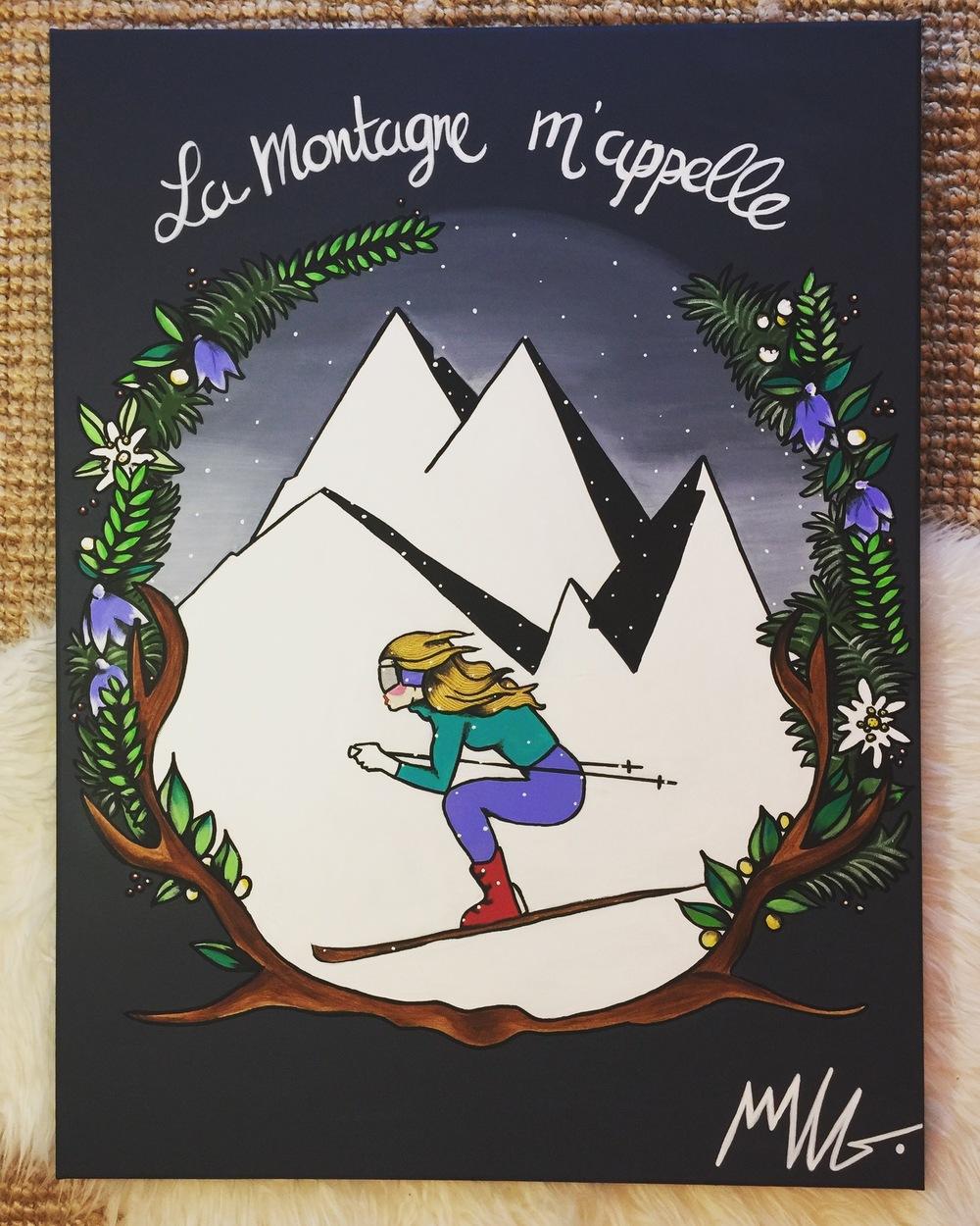 Marie LG - la Montagne mappelle.