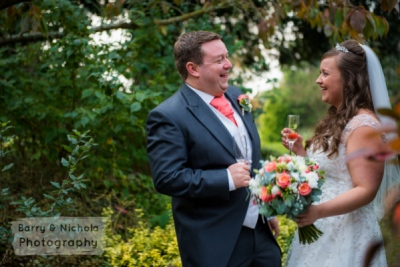 Barry & Nichola Photography - St Giles in Coldwaltham on to Hilton Avisford Park Hotel, Mr and Mrs Collins