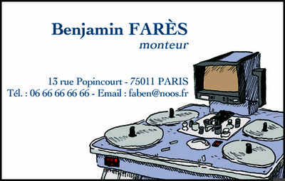 Book Élias FARÈS - Carte de visite
