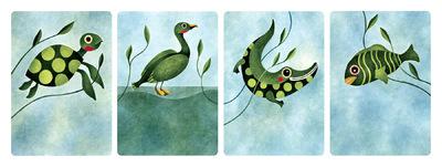 Camille Nicolazzi Illustratrice - Famille Verte