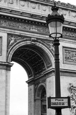 Leyla Kazim | Photography - Arc de Triomphe, Paris - France