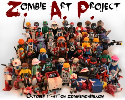 Zombiemonkie - Zombie Art Project 1