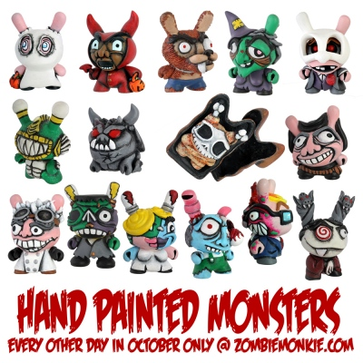 Zombiemonkie - Dunny Monsters