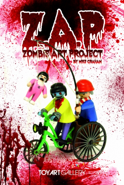 Zombiemonkie - Zombie Art Project 2