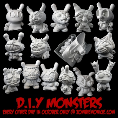 Zombiemonkie - Dunny Monsters DIY