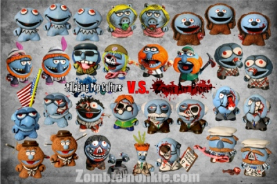 Zombiemonkie - Zombie Art Project 3: Muppet Mayhem