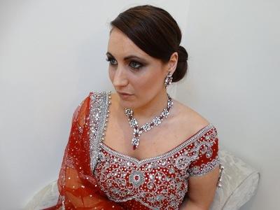 Flawless Image - Sonya Red Bridal Look