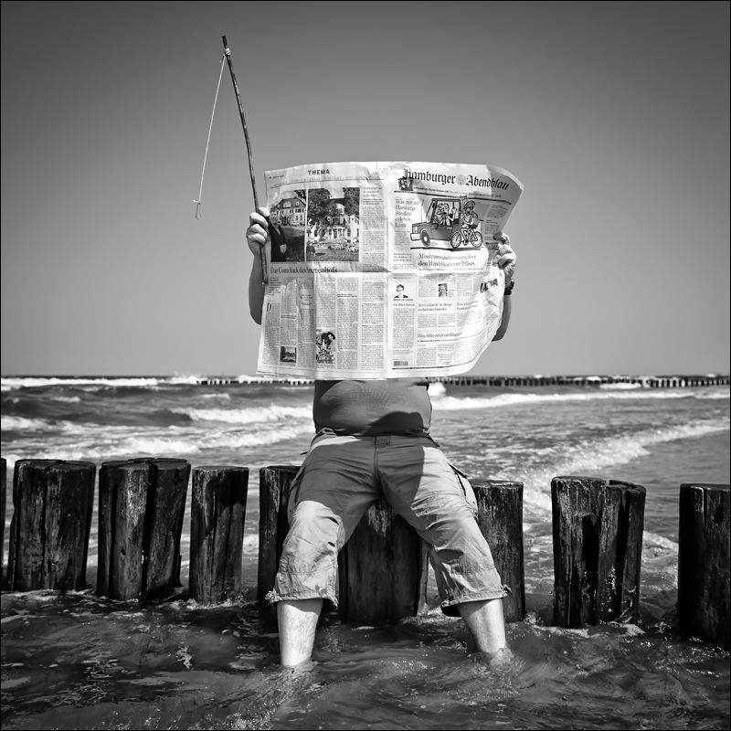 Nicole Oestreich ... - ~14~ ... für mich ist er ein Meilenstein! Sein Spruch zur Fotografie: Fotografieren ist für ihn wie für andere das Angeln.