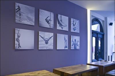 Nicole Oestreich ... - 12/2o16 Ausstellung Erste Liebe Bar / HH