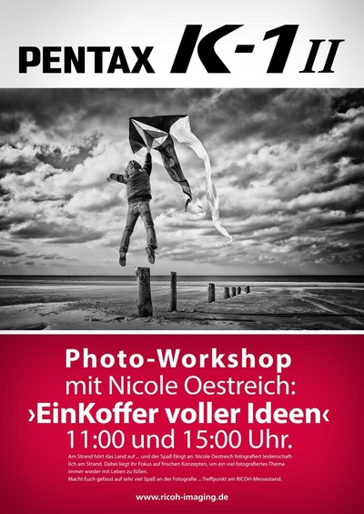 Nicole Oestreich ... - 2o18 / Workshop in Zingst Ein Koffer voller Ideen