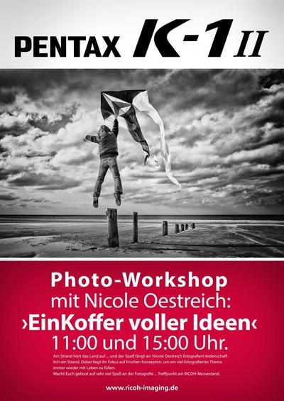 Nicole Oestreich ... - 2o18 / Workshop in Zingst Ein Koffer voller Ideen