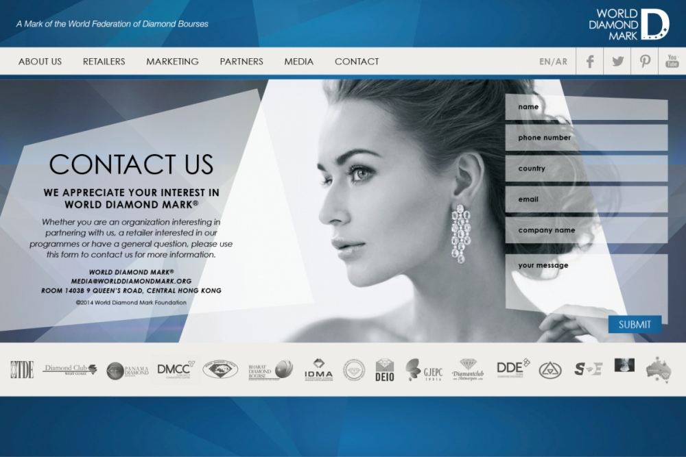 Nejib Design - Contact Page