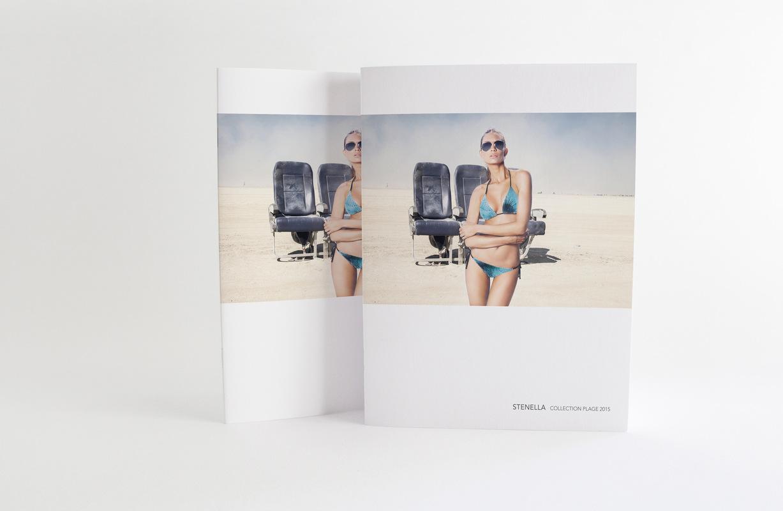 Marie Morane - 2014 - Design mode Proposition dune collection plage et recherche dintentions de visuels photographiques.