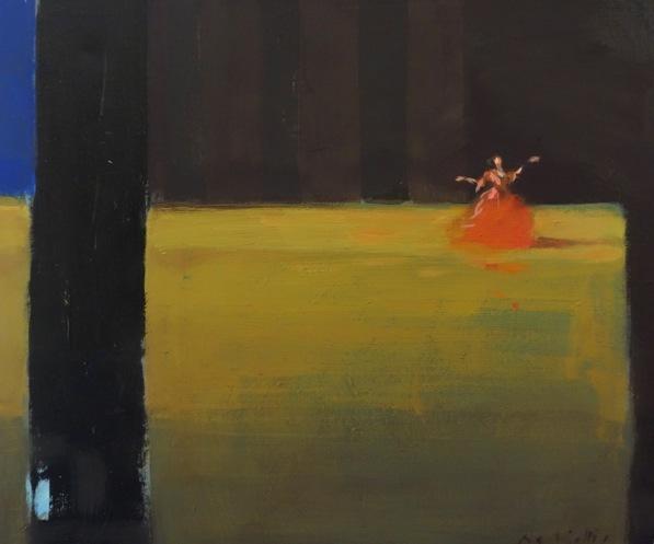 Bertrand de Miollis - 12- Lapparition - daprès le ballet Le Parc, 46cm x 38cm