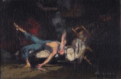 Bertrand de Miollis - 15- Le Jeune homme et la mort