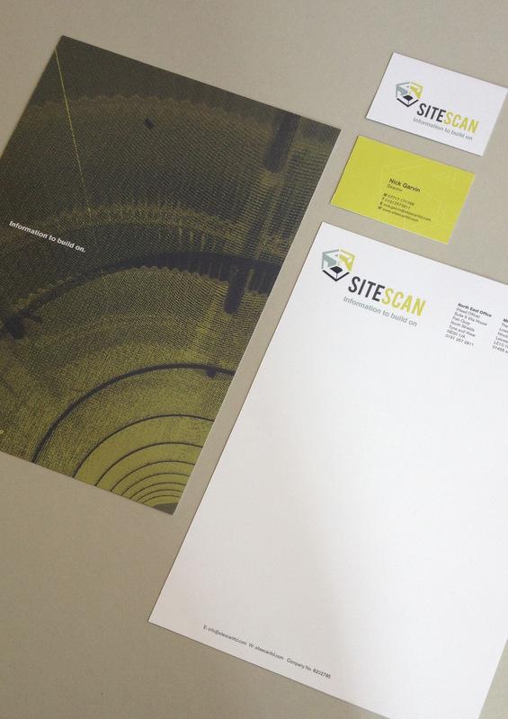 Joseph White Creative Designer - Branding for SiteScan Serveyors
