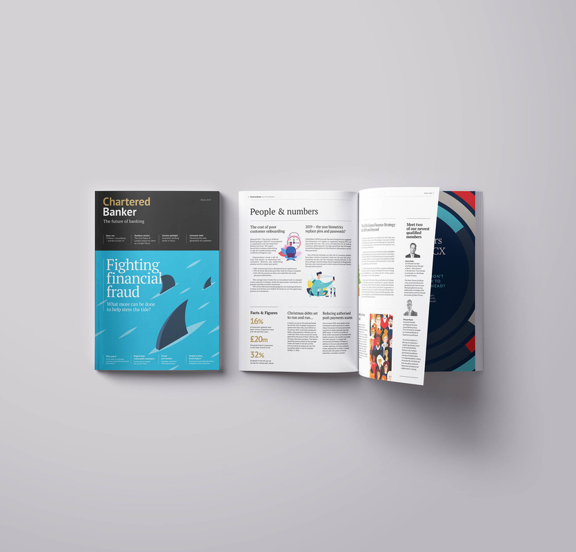 jwhitedesigner - Chartered Banker Magazine re-design