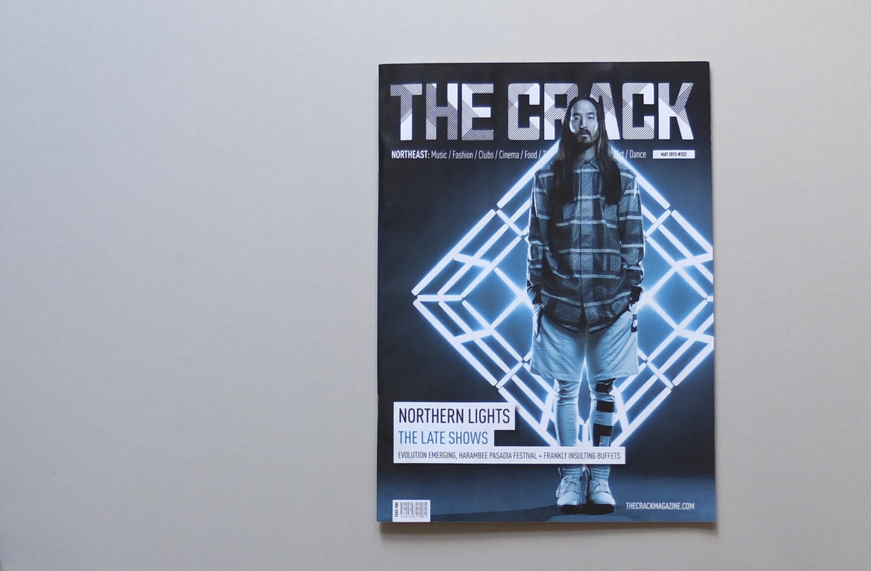 jwhitedesigner - The Crack Magazine Cover