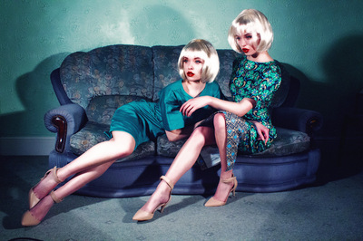 Yasmin and Leela Carr-Bond - Chloe Rosolek, Dolls House 2012