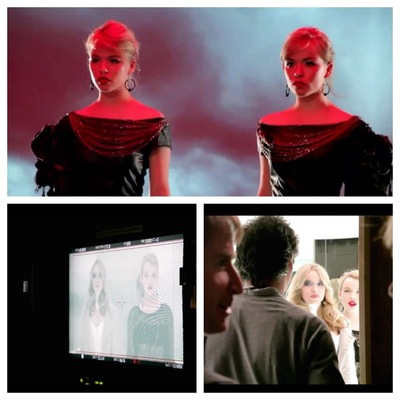 Yasmin and Leela Carr-Bond - Behind the scenes on various jobs