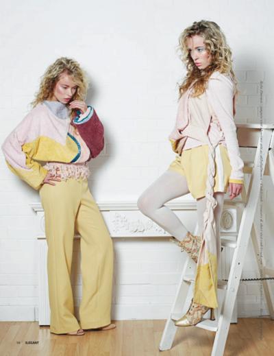 Yasmin and Leela Carr-Bond - Elegant Magazine, Magdalena Bieth, 2015
